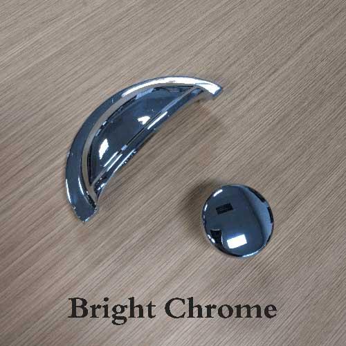 Bright chrome
